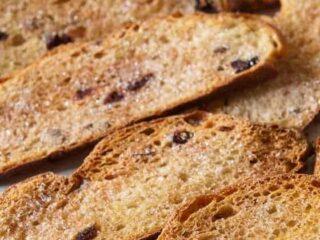 Cinnamon Crispy Toast