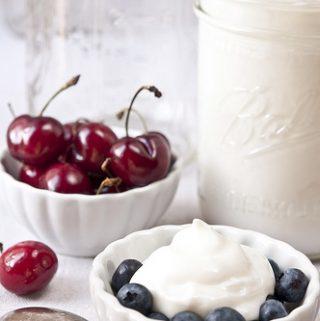 Healthy Homemade Greek Yogurt (fat-free)
