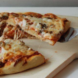 MY FAVORITE PIZZA DOUGH