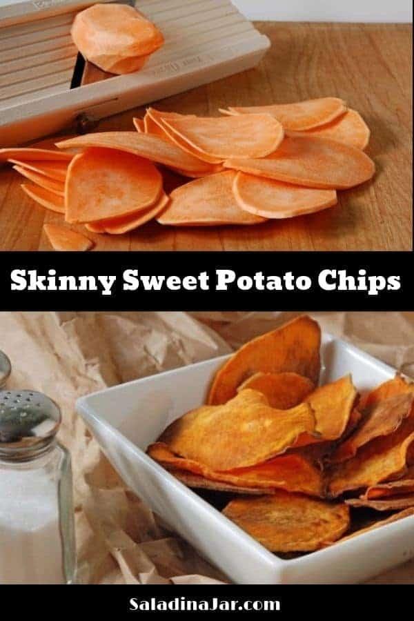 Skinny Sweet Potato Chips