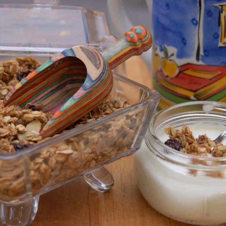 Low-Calorie Homemade Granola