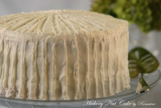 Hickory Nut Cake post