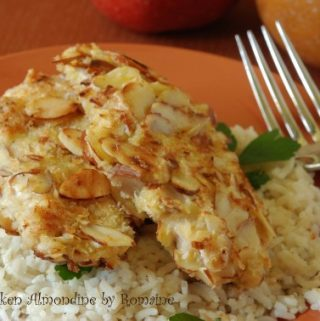 crunchy almond chicken