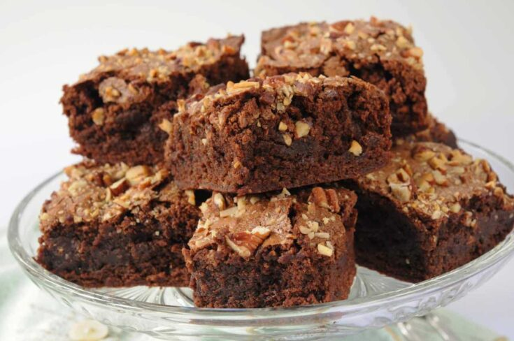 Make these brownies in your microwave faster than you can run to the store.