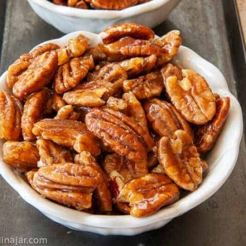 Crunchy Caramelized Nuts