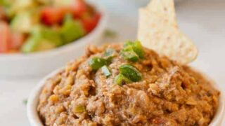 New Year's Day Smoky Black-Eyed Pea Dip