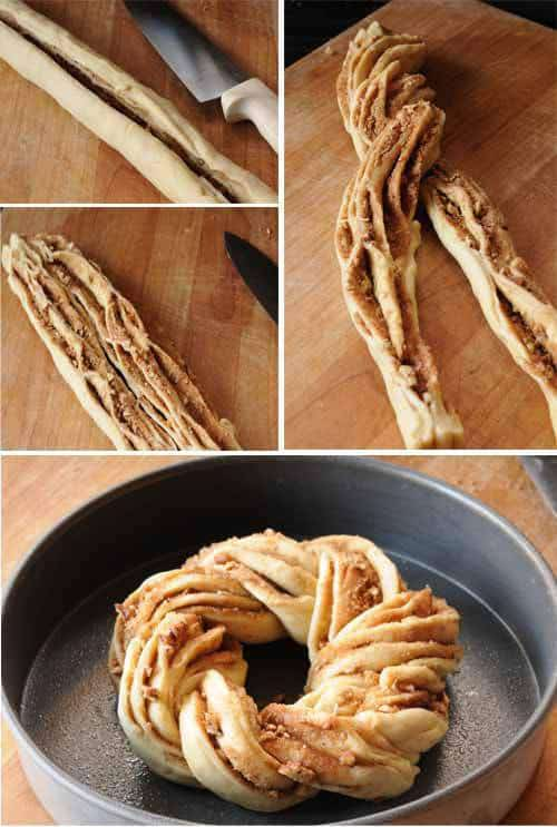 How to cut and twist dough