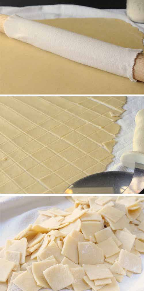 how to cut dumplings with a pizza cutter