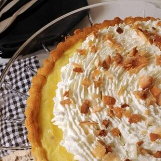 Amazing Microwave Custard for a Pie or Tart