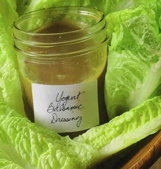 HEALTHY  BALSAMIC SALAD DRESSING