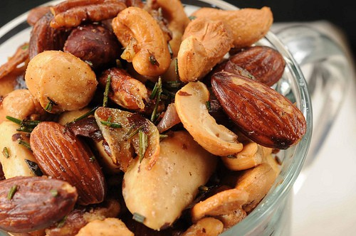 Roasted Nuts with Rosemary and Shallots are toasted mixed nuts combined with rosemary and sautéed shallots. Serve warm. Great appetizer!