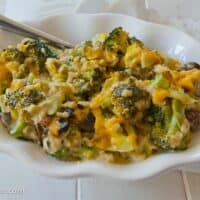 Broccoli-Rice Casserole (No Canned Soup)