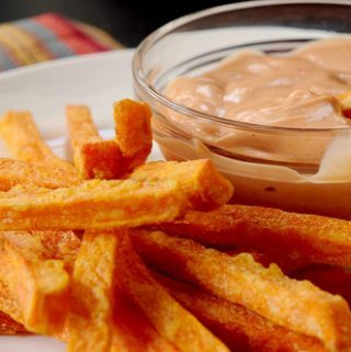 sweet potato dipping sauce