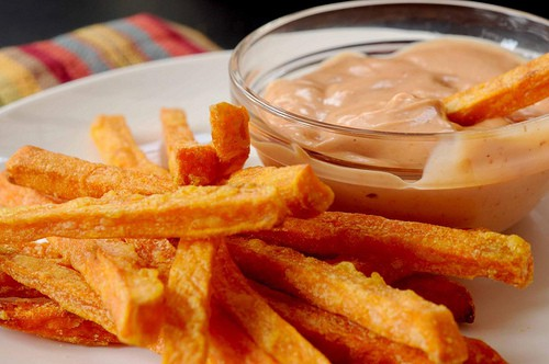 A Cajun Dip for Sweet Potato Fries