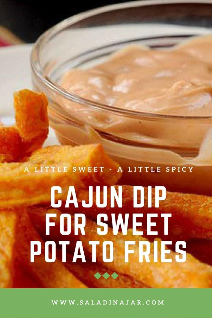 sweet potato fries dipping sauce, sweet, spicy, easy