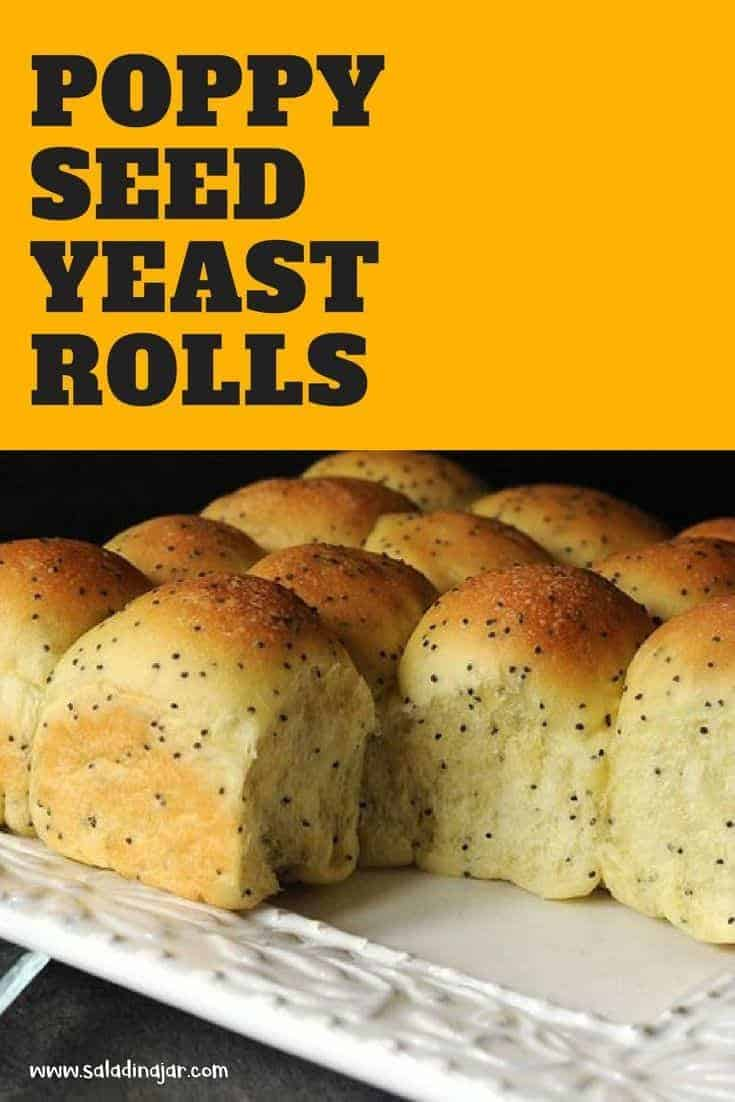 Make these Poppy Seed Rolls in your bread machine--great slider buns.