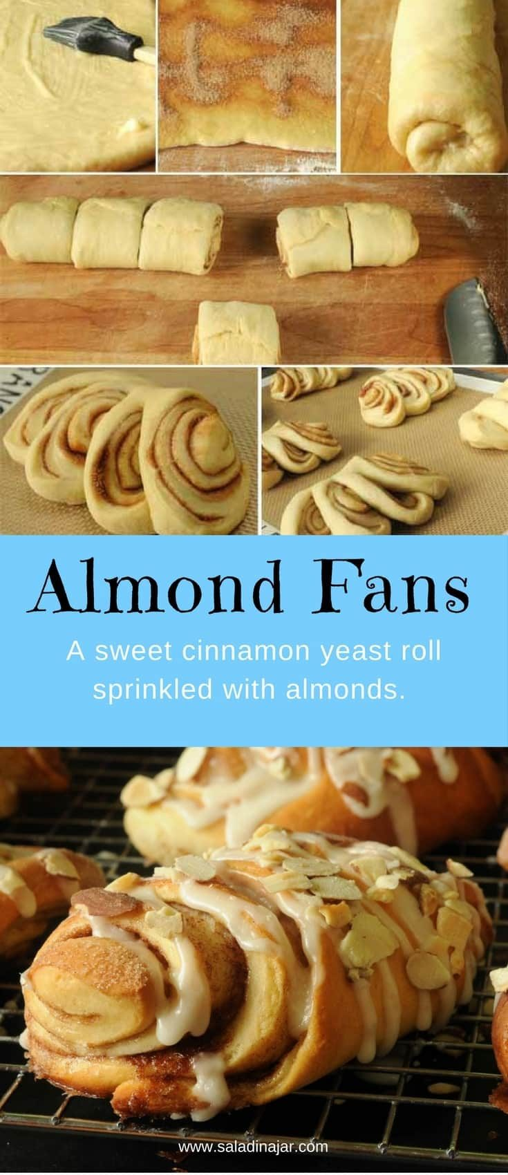 A fancy cinnamon roll that's so easy to make and bake. Includes instructions for bread machine and mixing by hand.