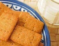 Homemade Honey Graham Crackers (Wafers)