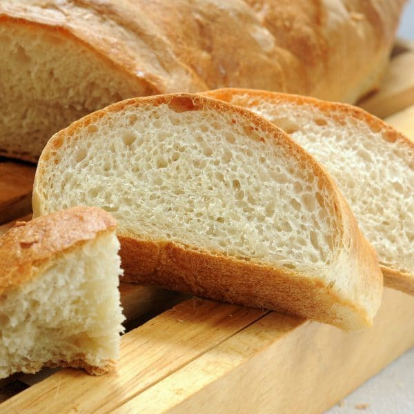 crusty French bread, bread machine