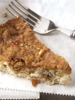 Sliced Coffeecake