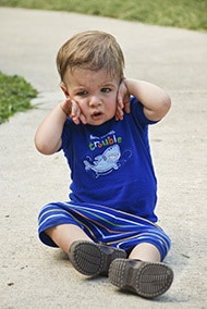picture of frustrated child