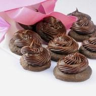 chocolate cupcake tops