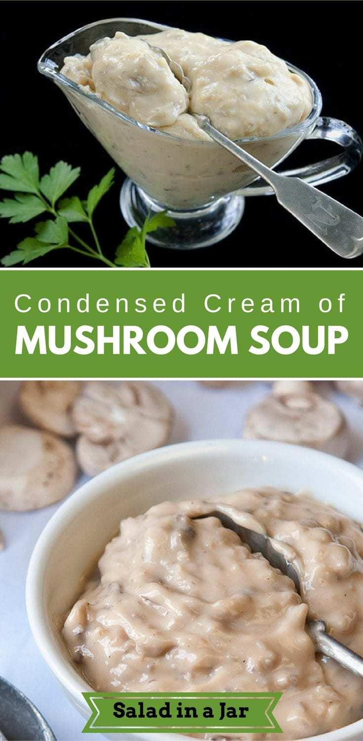 Condensed Cream of Mushroom Soup