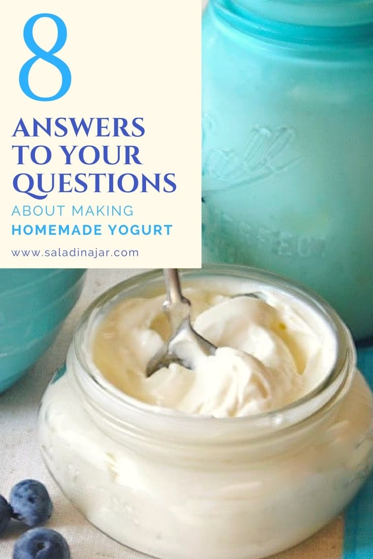 8 answers to your questions about making homemade yogurt