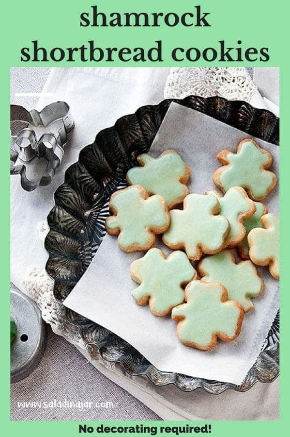 Looking for something green to make for that St. Patrick's Day luncheon coming up? Skip the spinach and go straight for dessert with these simple, buttery and adorable shamrock cookies.