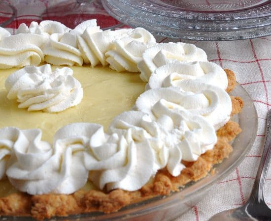 CREAM PIE FILLING IN THE MICROWAVE