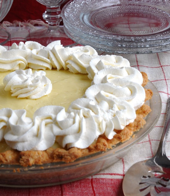Make a Great Cream Pie Filling in a Microwave-picture of cream pie