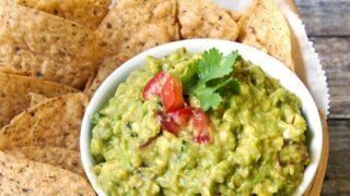 Fresh Guacamole with a Surprise Twist