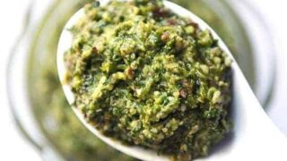 Cilantro and Green Chili Pesto