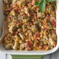 Corn and Eggplant Vegetable Medley