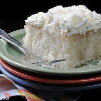 easy coconut poke cake