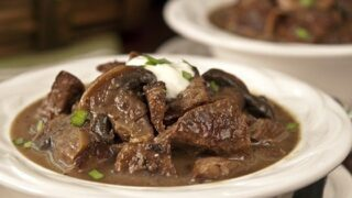 Slow Cooker Steak and Mushroom Soup: A Busy Day Lifesaver