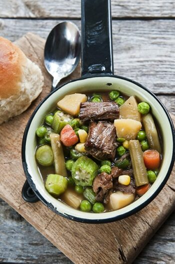 Use pot roast leftovers to create this delicious and filling Vegetable Beef Soup.