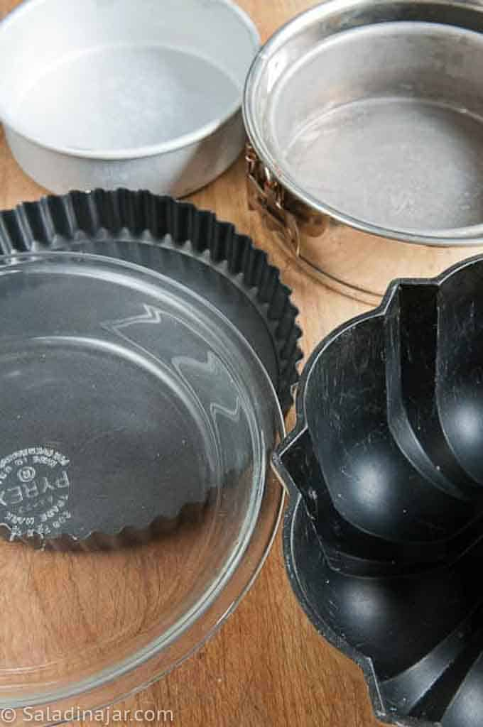 smaller size baking pans for half-recipes