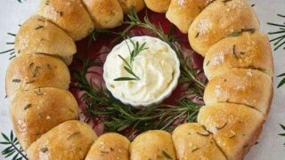 Browned Butter and Rosemary Yeast Rolls