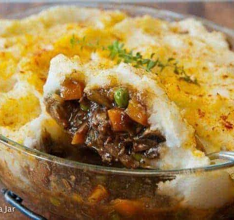 Easy Weeknight Shepherd's Pie with Leftover Roast Beef (+Video)