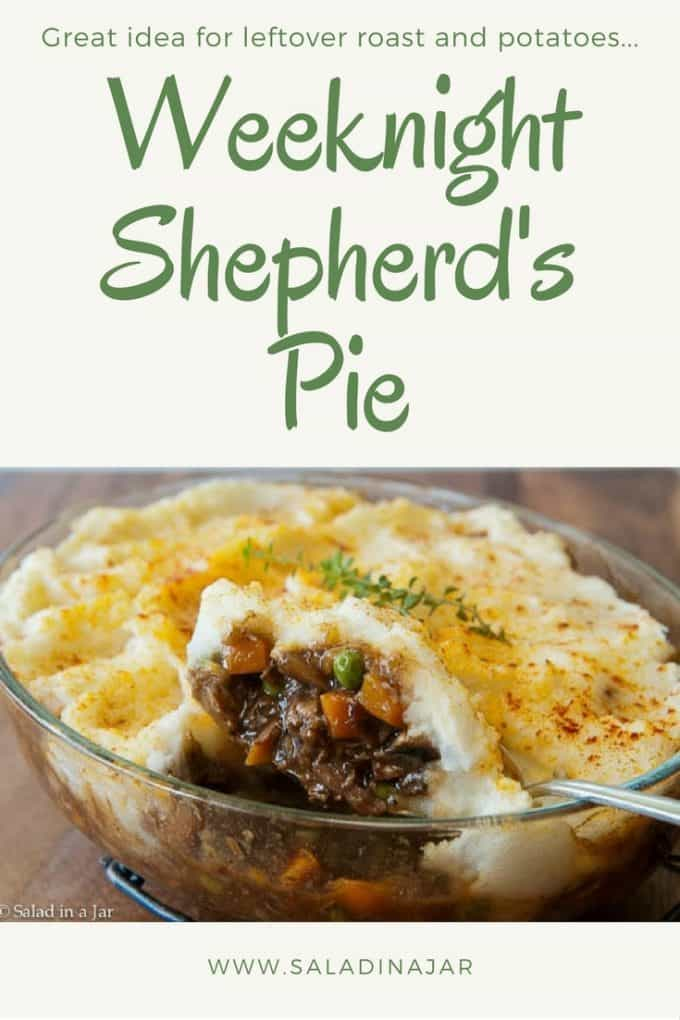 shepherds pie, shepherd's pie, weeknight, supper, beef, roast, mashed potatoes, leftover,