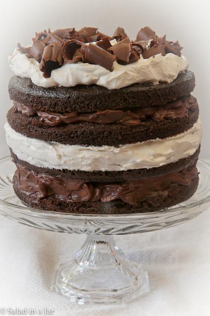 Chocolate-Almond Mini Torte