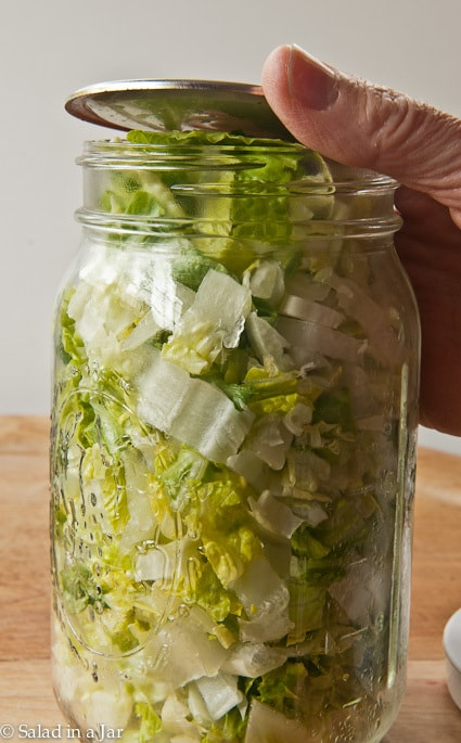 Why Won T Lids Seal When Vacuum Sealing Mason Jars Salad In A Jar