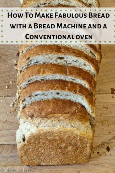 Loaf of sliced Oatmeal-Sunflower Bread
