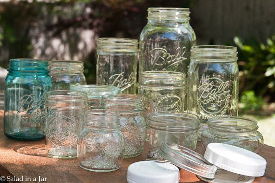 5 Mason Jars Stars For Your Kitchen -- a collection of Mason jars.
