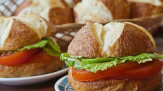 Bread Machine Pretzel Buns