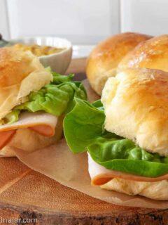using Hawaiian rolls for slider buns