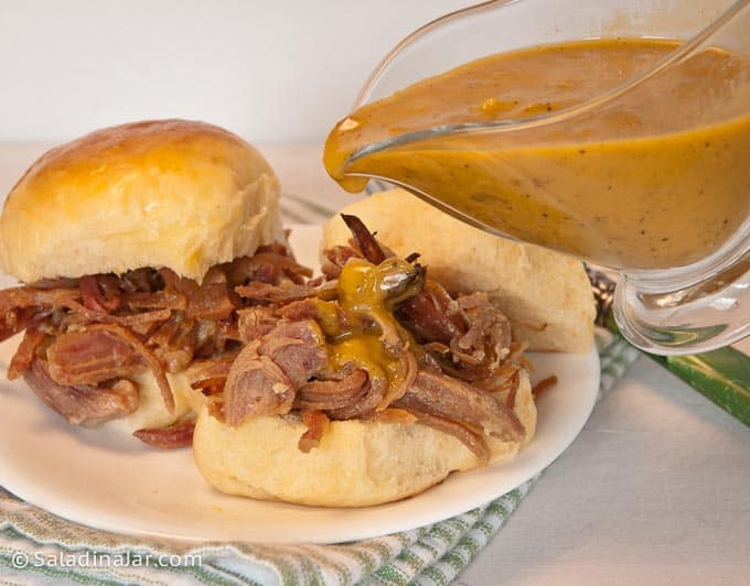 This barbecue sauce is a heavenly match for ham, pork, or chicken with its sweet and tangy flavor.