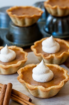 Pumpkin Pie MIni-Tarts