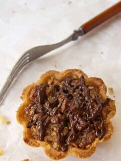 Browned Butter Pecan Mini-Tarts